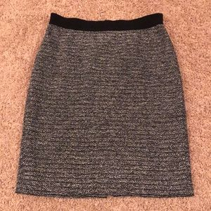 Ann Taylor tweed pencil skirt